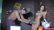 Erotic zombie - Behind the scenes from asa akira vs. zombie