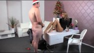 Bad boob gone job Femaleagent - bad santa gets a great foot job