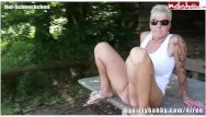 Pissing outdoors movies - German masturbation and outdoor pissing