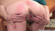 Atk hairy older woman - Sleazy granny with saggy tits and hairy cunt