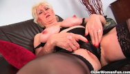 Older amature pussy vid - Granny with big tits finger fucks old pussy