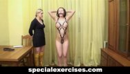 Shelleys training bdsm Naked bdsm training for slave girl