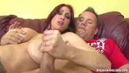 Xxx xxx women over 40 videos Busty redhead milf jerks off a boner