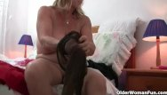 Woman breast expansion Grandma with big breasts rips open pantyhose