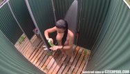Teen hower spycam - Public pools shower voyeur