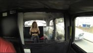 Penis shaped vibrator Faketaxi - busty blonde with a perfect shape