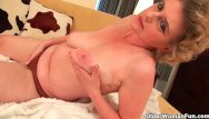 Older porn lust tube Granny in lust masturbates and gets fucked