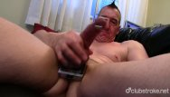 Gay male massuse Pierced straight marc jerking off his pecker