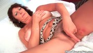 Mature shows her hairy cunt Busty grandma rubs and fingers her hairy cunt