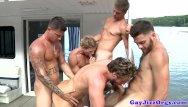 Gay men having sex in undrwear Gay seafarers jerking cocks and having orgy