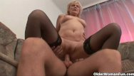 Older woman sex clips - Sex starved grannies need their daily cumshot