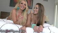 Lesbians with perfect tits - Two perfect lesbians go to town on each other