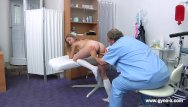 X-tubes bdsm - Blonde gyno exam. detailed full body and puss