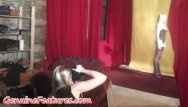 Real teen clip - Hot czech wife in real backstage clip
