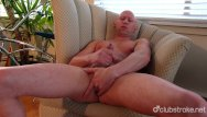 Why is rob gay - Bald straight guy rob masturbating his cock
