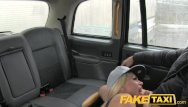 Mad comic strip - Faketaxi - cock mad blonde with huge tits