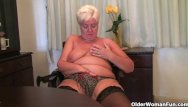 Home naked woman - When granny comes home the knickers come down