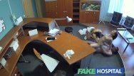 Nude women hospital Fakehospital - doctor enjoys two women