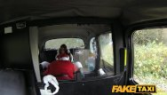 Funny lookin dick - Faketaxi party girl gets fucked in taxi