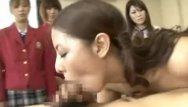 Go asian - Schoolgirls go nasty in hot teacher