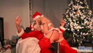 Young boys being spanked Dirty santa slapping teenie for being nasty