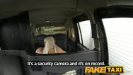 Spunk facial trailer - Faketaxi blonde gets covered in spunk facial