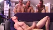 Hot gay ginger - Straight ginger twink cums for his pals