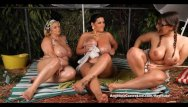 Tifa lockhart naked pics - Angelina castro outdoors oily threesome and s