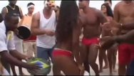 Porno rio brazil - Brazilian gangbang after beach party