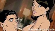 Porn tube room service sex - Archer hentai - room service