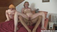 Sexy russian mothers - Mother in law catches him