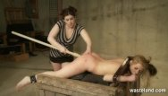 Spanking tube spanked flogged and toyed Female slave brought to orgasm and flogged