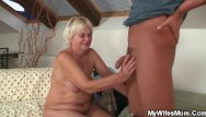 Boyfriends mom sex Her blonde old mom and boyfriend taboo sex