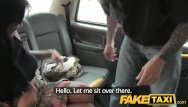 Kustom vintage tattoo studio - Faketaxi customer deepthroats big cock