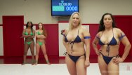 Bikini ultimate Wrestling team catfight