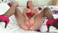 April scott lingerie British milf april rips her tights