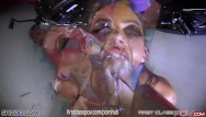 Jessica in a bikini Juelz ventura blowjob