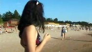 Young teen girls nudists - Curvy young nudist lets the sun kiss her body
