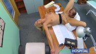 Doctor fucks my wife - Fakehospital doctor fucks wife in his office