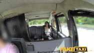 Shaved spanish Fake taxi spanish brunette with shaved pussy