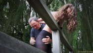 Girls spank boy - Newbie girl endures bondage spank and drill