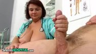 Nurse measuring penis Big breasts cougar eva jerking a big penis