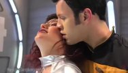 Sexy star trek chicks - Star trek: the next penetration gangbang