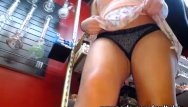 Upskirt porn at work Hot teen working at vape shop has hot upskirt