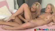 Xxx intimate - Girlfriends gorgeous blondes get intimate