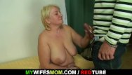 Bust my asshole - Masturbating mother gets busted and screwed