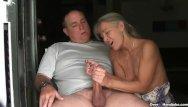 Mature 40 inch ass - Mature couple handjob