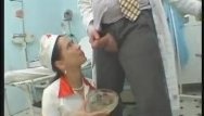 Clinic fetish apron - Doctor and nurse playtime