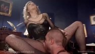 Humiliation dominatrix ass worship - Blonde dominatrix humiliates office slave