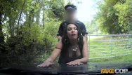 Sex sluts and more - Fake cop naughty sluts get more than the law